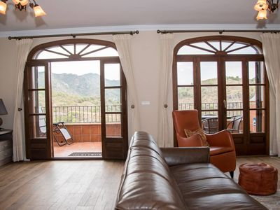 Photo for House with incredible views of the mountains and the sea