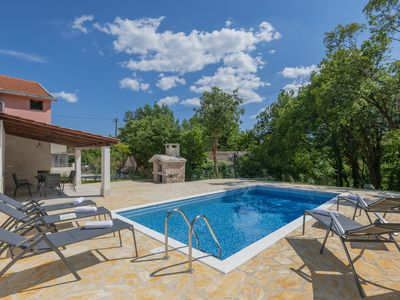 Photo for Villa Milla, completely decorated with the private pool
