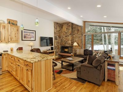 Photo for New Listing! Shadowbrook Snowmass. Outdoor Heated Pool/Hot Tubs. Parking/Balcony/Grill. Ski-In/Out