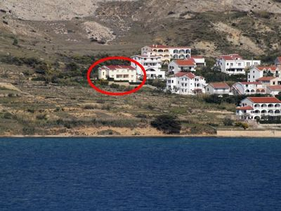 Photo for Apartment in Pag (Pag), capacity 6+0