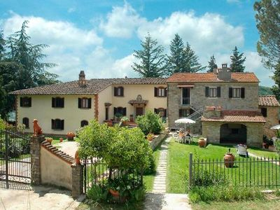 Photo for Country estate Il Lago, Dicomano  in Um Florenz - 6 persons, 3 bedrooms