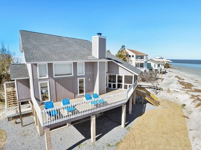 Photo for Ocean Front 3 Bedroom, 2 Bathroom Beach House with Breathtaking Views