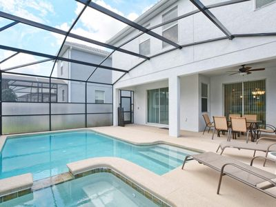 Photo for Minutes to Disney, BBQ Grill, Kid Themed Rooms, 2 Master Suites, Free Wifi