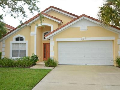 Photo for Stunning 4 bed pool home at Aviana with games room and spa!