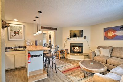 Escape to Breckenridge and the Rocky Mountains and stay at this vacation rental!