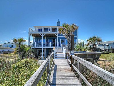 Photo for Boracay: Huge Vacation Home in the Heart of Kure Beach - Total Reno for '19