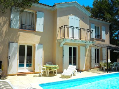 Photo for 4 Bed Villa on Pont Royal. Short Walk to P&V Village. FREE Wi-fi.