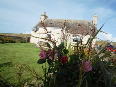 Photo for THE CROFT-3 Bed Holiday Cottage, stunning location, short walk to beach, Pets OK