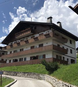 Photo for two very comfortable floors with breathtaking views of the Dolomites
