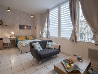 """Photo for Apartment """"The Scandi-Cozy"""" center / 10 min from the sea"""