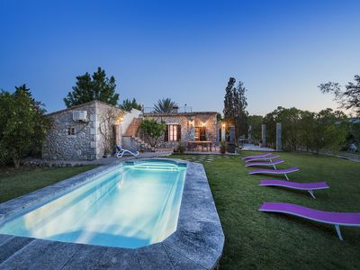 Photo for VILLA PALMERAS COUNTRY HOUSE WITH PRIVATE POOL