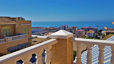 Photo for House With Sea Views, Pool and Parking!