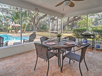 Photo for Largo Home w/Private Pool, Fire Pit, Patio, & Yard
