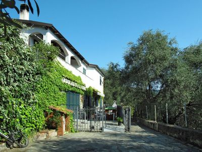 Photo for Cosy apartment for 6 guests with pool, WIFI, TV, pets allowed and parking