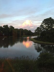 Photo for Paradise Found at Osprey Manor! 4 BR 3 Bath Home on Henri's Pond in Moss Creek