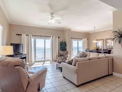 Photo for Gulf Front Condo in Gulf Shores!! Beautiful Gulf Views, Steps to the Beach!