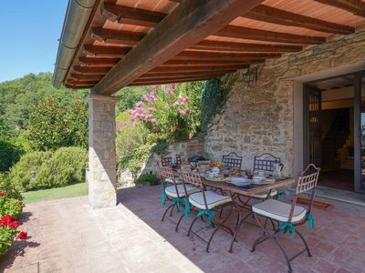Photo for Beautiful private villa for 4 people with WIFI, private pool, TV, patio, panoramic view and park...