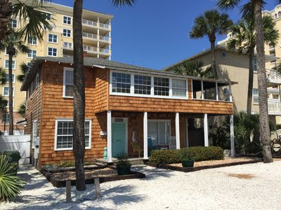 Steps To The Beach - Newly Renovated 2/1 First Floor Apartment With Ocean View