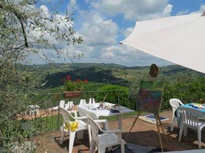 Photo for Holiday apartment Castellina in Chianti for 4 persons with 2 bedrooms - Holiday apartment