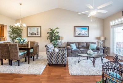 Living and Dining Room for Entertaining