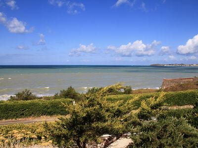 Photo for Normandy villa facing the sea with exceptional views
