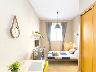 Photo for Homerez last minute deal - Amazing studio in Málaga and Wifi