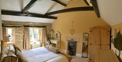 Photo for Beautiful peaceful village location with lovely views across the valley in AONB.