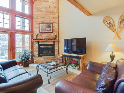 Photo for Luxury ski-in/ski-out home w/ fireplace, jetted tub, & shared pools/hot tubs