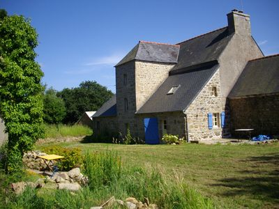 Photo for Charming chambre d'hôtes in a rugged 19th-century farmhouse