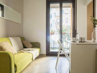 Photo for House of Shopping apartment in Stazione di Milano Centrale with WiFi, air conditioning & balcony.