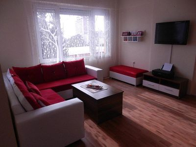 Photo for 3 room apartment only 350 meters from the large sandy beach in Lara