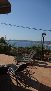 Photo for Mediterranean Villa Sea Views, Winter Pool, Heating and Air Conditioning