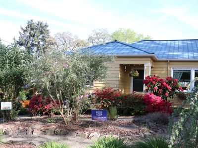 Photo for EarthWISE Certified Urban Garden Retreat in Hip Rural Town