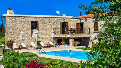 Photo for Spacious stonebuilt villa in a tranquil setting with pool and spacious garden!