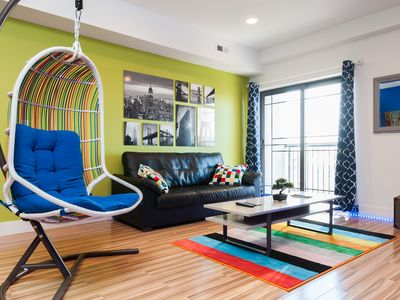 Photo for AMAZING NEW PENTHOUSE-10 MIN TO TIMES SQ 2BR