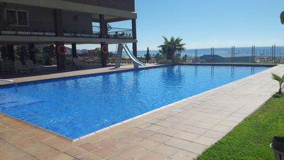 Photo for Tranquility with pool by the sea