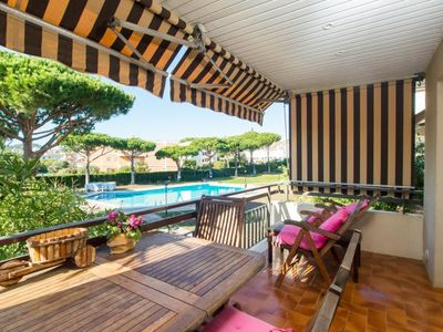 Photo for 3 bedroom Apartment, sleeps 6 in Calella de Palafrugell with Pool