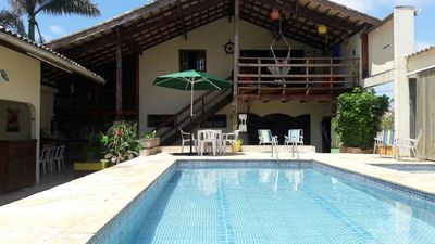 Photo for Beautiful house (60m from the beach, 16 people, 5 bedrooms, 3 c / air cond.)
