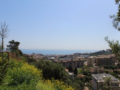 Photo for BASTIA - Beautiful apartment sea view, on the heights of the city 5 minutes from downtown - AMAR127