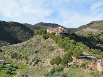 Photo for Modern apartment, high in the mountains with private pool (adults only)