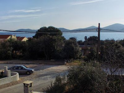 Photo for Two bedroom apartment with balcony and sea view Biograd na Moru, Biograd (A-863-d)
