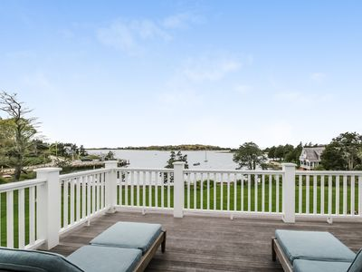 Photo for Luxury Magnificent landmark property on the shores of West Falmouth Harbor near dock and beach