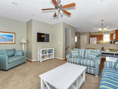 Captains View Villas II - 12th St bayside - easy walk to the beach and boards. 4 Br townhouse.