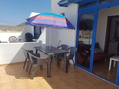 Photo for 2 bedroom Apartment, sleeps 4 in Caleta de Sebo with WiFi