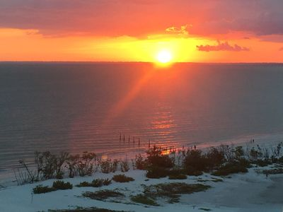 A sunset on the Gulf of Mexico is a wondrous thing!!