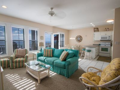 Ocean Club - Oceanfront 3BD with elevator, heated pool, weight room, and hot tub