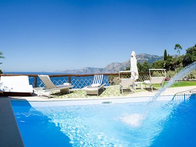 Photo for Villa Il sogno di Praiano is a wonderful property with private pool, air conditioning amazing sea vi