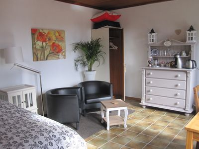 Photo for A lovely room in a detached house with a view of the forest garden.