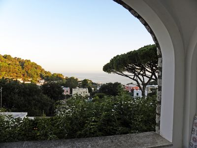 Photo for Tiberio House with fantastic view in a quiet area