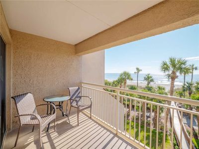 Photo for Captains Walk 418, 3 Bedrooms, Beach Front, Pool, Sleeps 8